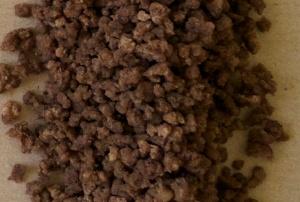 Kuivattua jauhelihaa